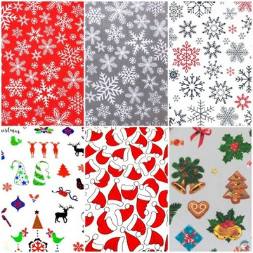 Świąteczne maseczki/maski bawełniane + GRATIS