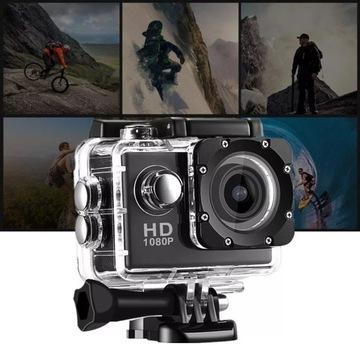 kamera sportowa narty rower motor pływanie 1zł