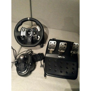 Kierownica Logitech G920 + Shifter + WheelStandPro
