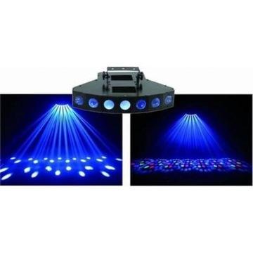 Eurolite LED SCY-100 RGBW DMX LED Mikrofon Efekty