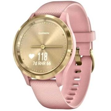 Zegarek SMARTWATCH GARMIN Vivomove 3S Różowo-złot