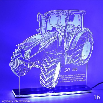 TRAKTOR - LAMPKA NOCNA LED!PREZENT! URODZINY!