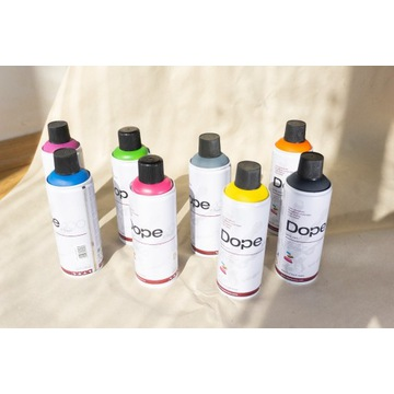 Zestaw 8 farb Dope 400 classic graffiti