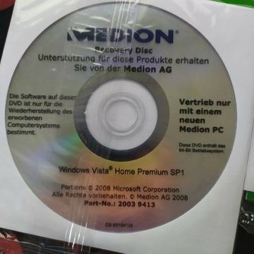 Windows Vista Home premium instrukcja płyta 64 bit