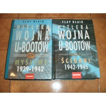 Hitlera wojna U-bootów Myśliwi Ścigani Clay Blair