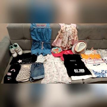 Zestaw ubrań dla dziewczynki 128 r