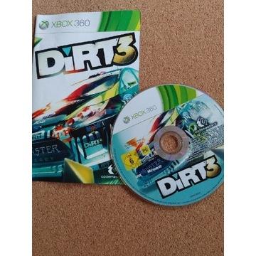 DIRT 3, wersja pudełkowa, XBOX360