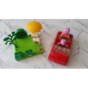 Klocki Świnka Peppa kompatybilne z Lego Duplo
