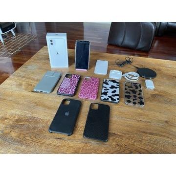 iPhone 11 64 GB biały gwarancja 04.2022 gratisy
