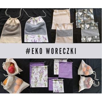 Eko Woreczki - 100% Bawelna - eko siatki