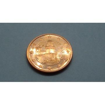 5 centów San Marino 2003 Mennicza