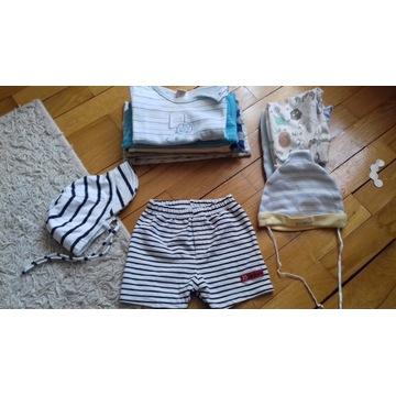 Zestaw ubranek niemowlęcych dla chłopca 62 i 68