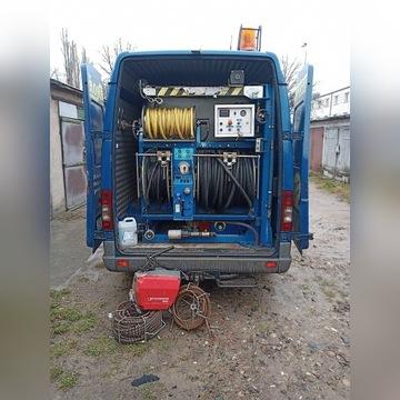 Udrażnianie kanalizacji, pogotowie hydrauliczne