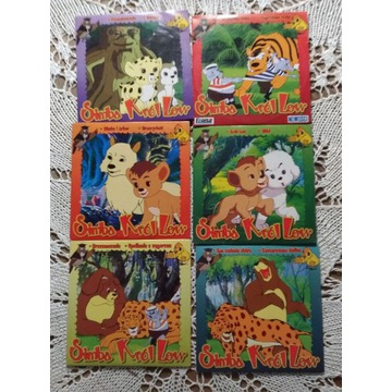 Simba Król Lew zestaw 6 płyt