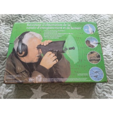 Mikrofon kierunkowy podsłuch z funkcją nagrywania
