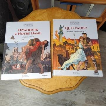 Quo Vadis,Dzwonnik z Notre Dame wydanie Hachette