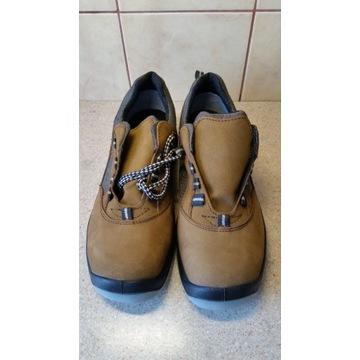 Skórzane buty półbuty robocze PPO roz 43