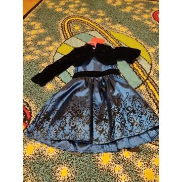 Sukienka święta 92 ze Smyka bolerko k. nowa
