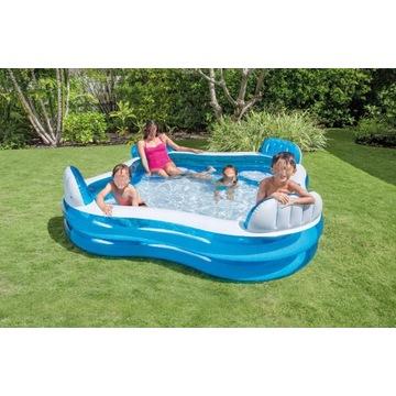 Rodzinny basen ze strefą relaksu. Dostawa gratis.