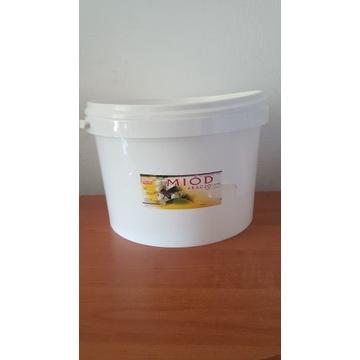 Miód Pszczeli Akacjowy wiadra 10 kg