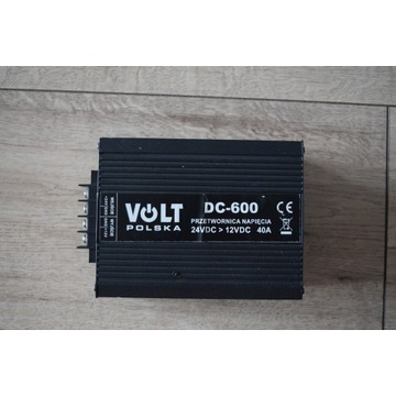Przetwornica VOLT DC-600 24/12V 40A