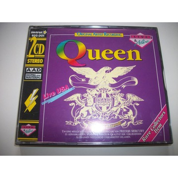 QUEEN - LIVE USA / 2CD