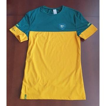 Koszulka piłkarska Decathlon Kipsta FF100 Brazylia