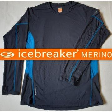 Icebreaker /XXL/ bluza polar koszulka merino BDB+