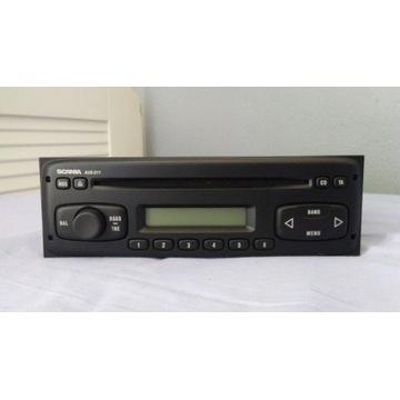 Radio SCANIA AUS211 - 12V - JAK NOWE !! OKAZJA !!