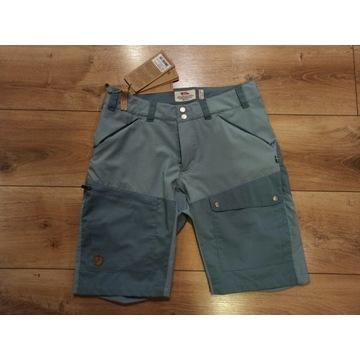 Abisko Midsummer Shorts 38 M niebieskie szorty dam