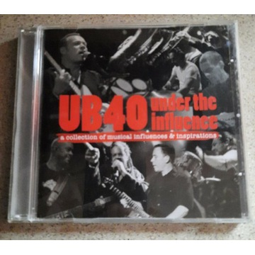 CD UB40 under the influence a collection