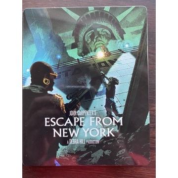 Ucieczka z Nowego Yorku. Brak pl steelbook