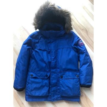 Zara kurtka puchowa zimowa 140