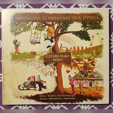Cztery pory roku - muzyczny elementarz dla dzieci