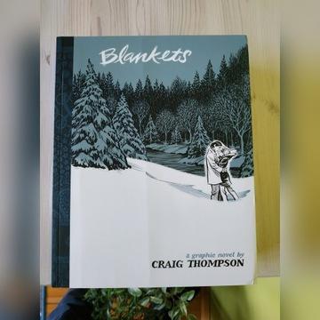 Craig Thompson BLANKETS (angielskojęzyczna)