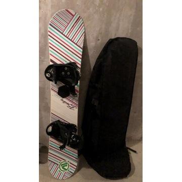 Snowboard Deska Burton Feather 44(144 cm) wiązania