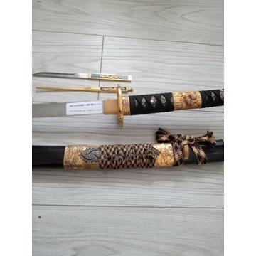Unikat miecz samurajski katana nozyk strzalka szpi