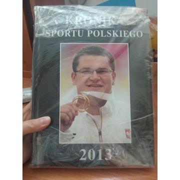 Książka Kronika sportu polskiego 2013