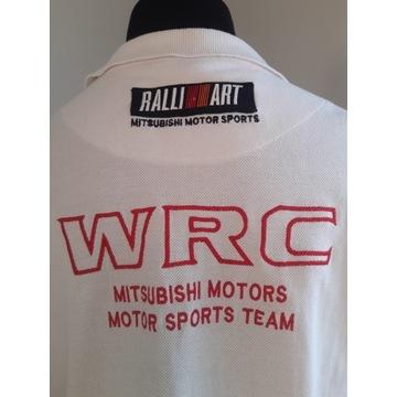 WRC MITSUBISHI MOTORS SPORT TEAM RALLI ART MĘSKA L