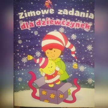B.GRUBA KOLOROWANKA-ZIMOWE ZADANIA DLA DZIEWCZYNEK