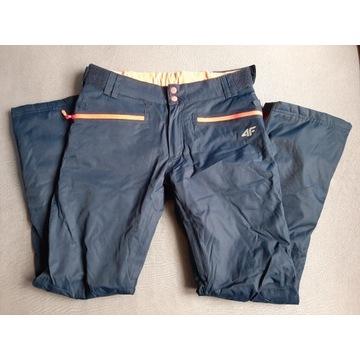 Spodnie narciarskie damskie 4f stan idealny rozm M