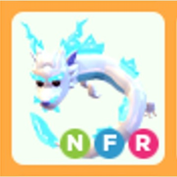 Roblox Adopt Me Frost Fury NFR neon FR