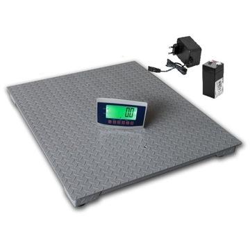 Waga 1,5x1,5 elektroniczna platforma 3t 5000kg 1kg