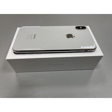 IPHONE XS MAX 64GB SREBNY IDEAŁ