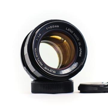 obiektyw SUPER REFLECTA 55mm f1.4 M42