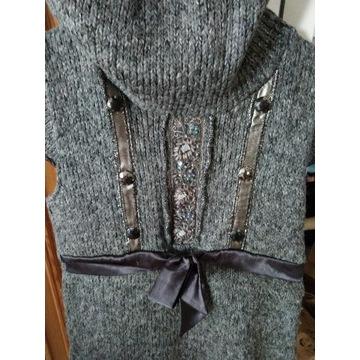 Sweter sukienka r 38