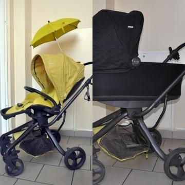 Wózek Mylo Mamas&Papas jak Stokke- pełen komplet