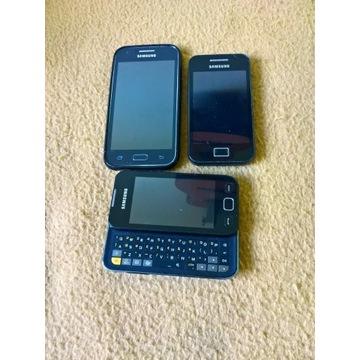 3 sprawne Samsungi