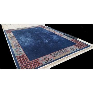 Ślicz Dywan ręcznie tkany, gruby i masywny 385/252