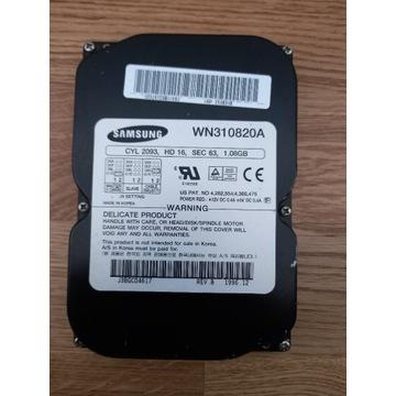 Samsung wn310820a dysk 1 gb
